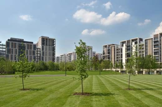 Ontdek het olympisch dorp in Londen en zijn toekomstige bestemming.