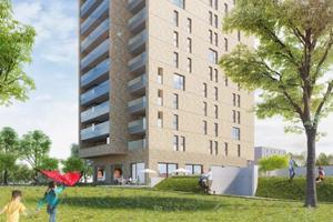 Nieuwe Limburgse woontoren weert generatie X en ouder