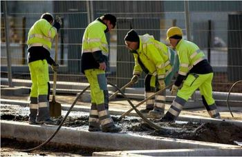 De Belgische bouwindustrie doet het goed