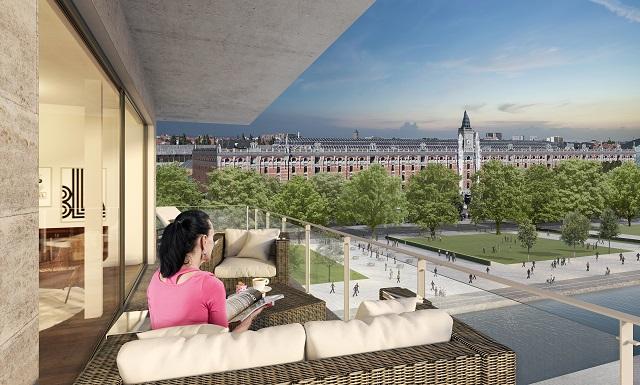 Investeren in een nieuw appartement aan het kanaal in Brussel?