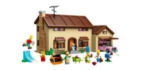 Ontdek het huis van Homer in Lego