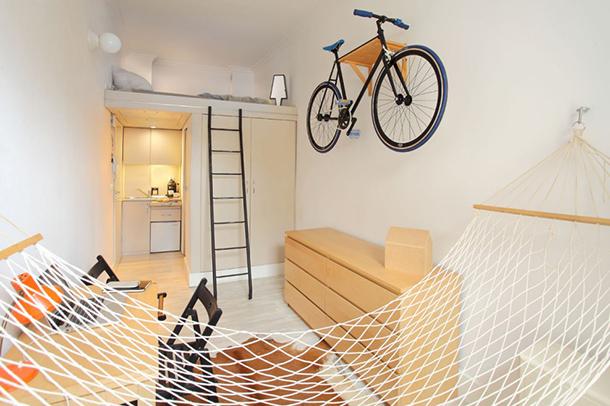 13m² to live comfortably, according to Szymon Hanczar