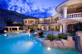De luxe-vastgoedmarkt in de Verenigde Staten