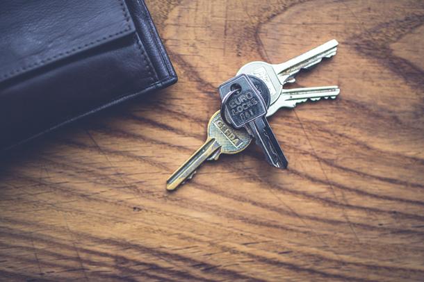 Geen huurwaarborg, geen sleutels?