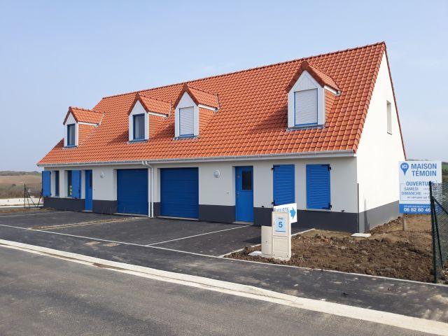 Votre rêve d'une maison individuelle sur la côte d'Opale, enfin réalité à un prix défiant toute concurrence!