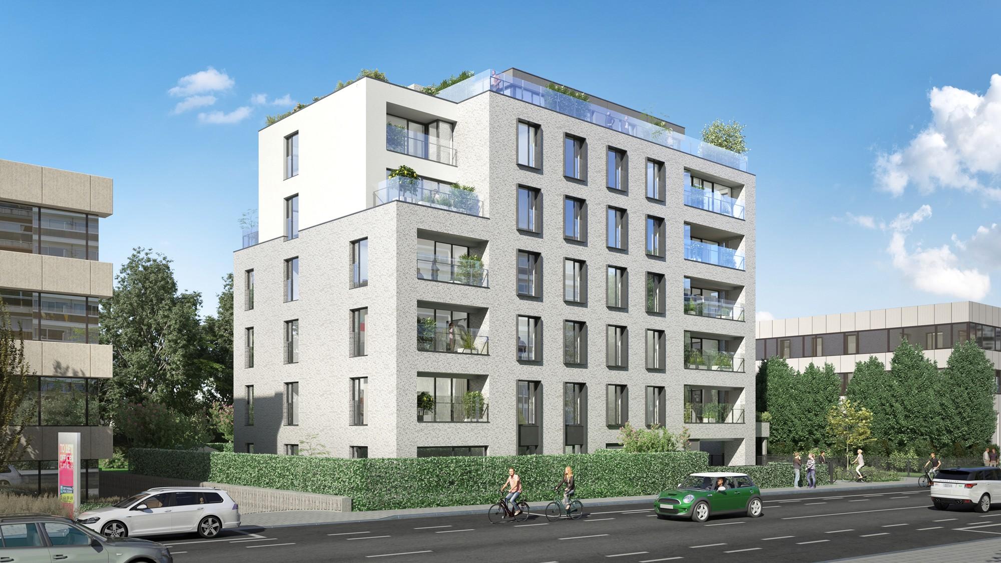 Een beloftevol nieuw project in een bloeiende wijk in Brussel