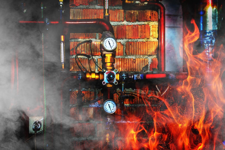 Vreemd: verwarmingsketel veroorzaakt huisbrand
