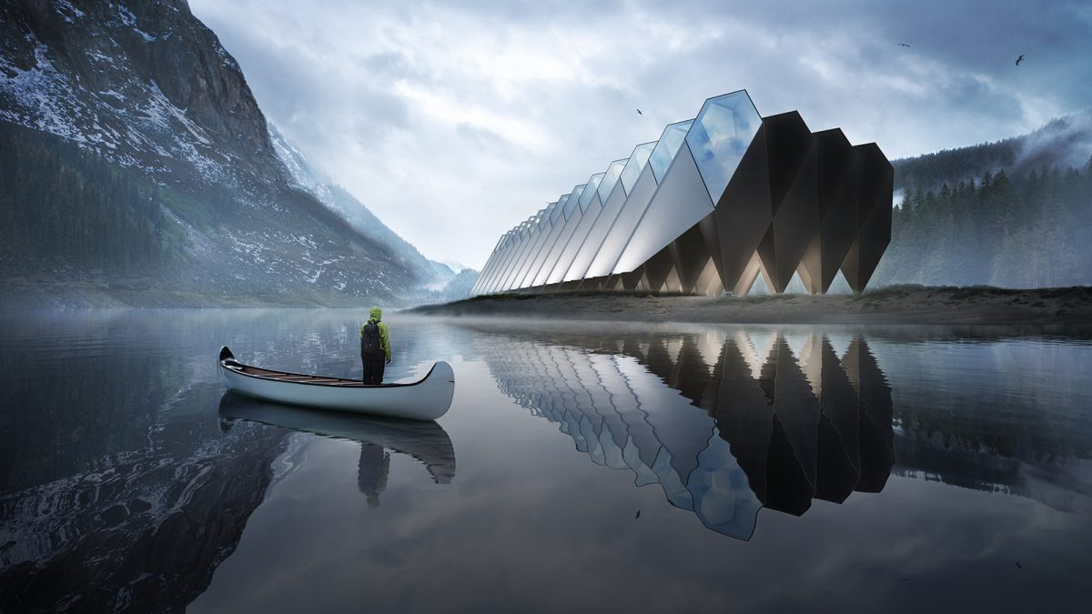 Dit spectaculaire hotel wordt CO2-neutraal
