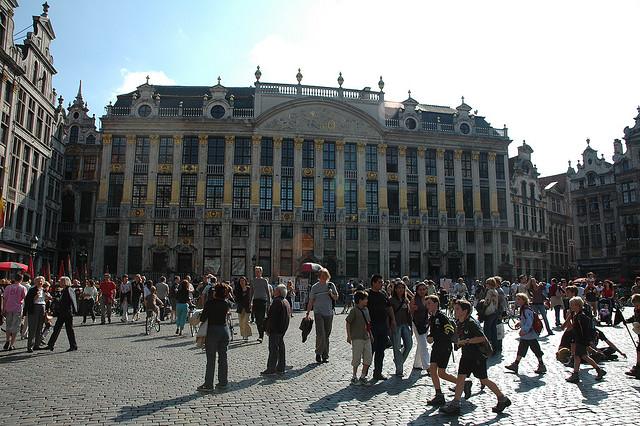 Bezoekers geven hun mening over Brussel.