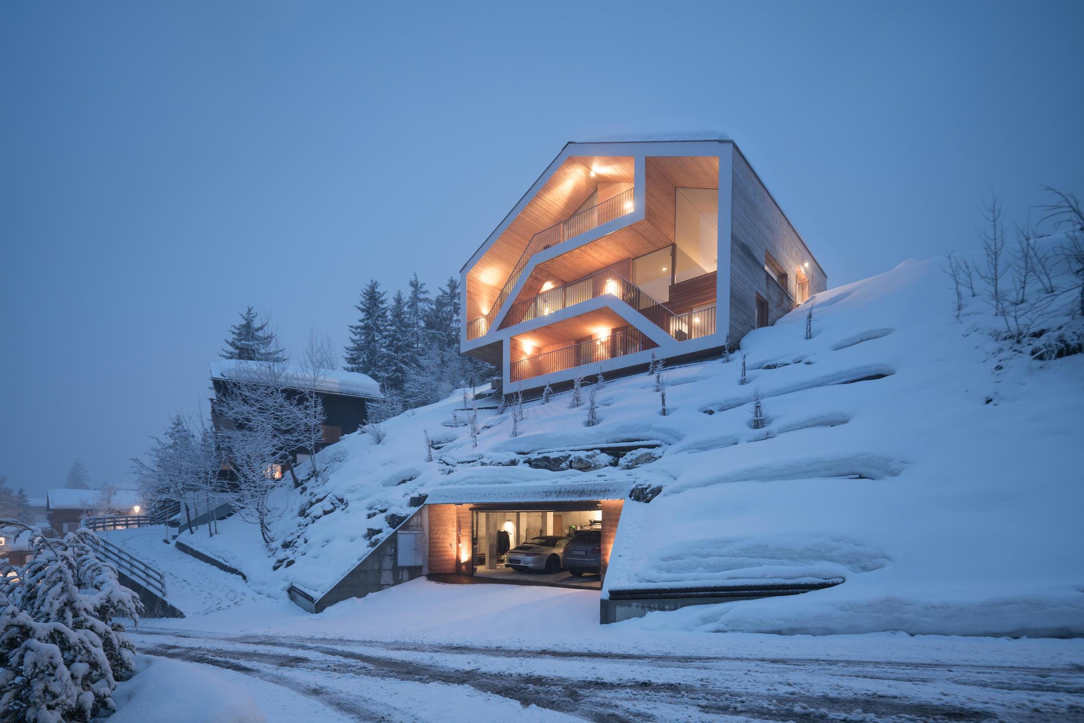 Deze Zwitserse chalet zal je doen… smelten!
