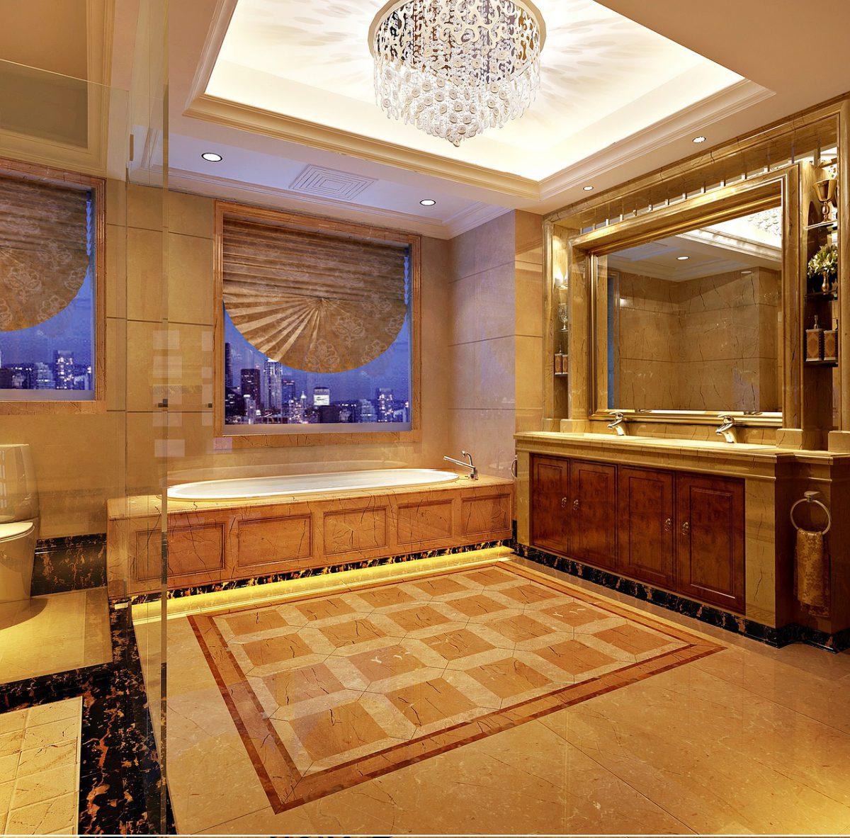 Marmer in de badkamer? Zo pak je het aan!