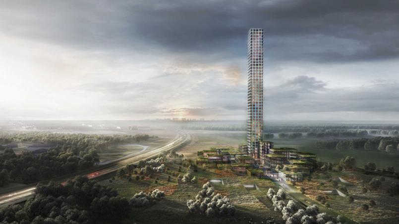 De hoogste toren van Europa komt niet waar je denkt