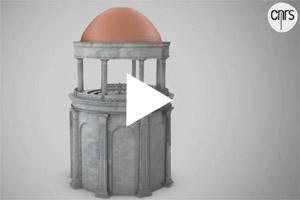 De draaiende eetzaal van Nero, een archeologische ontdekking (video).