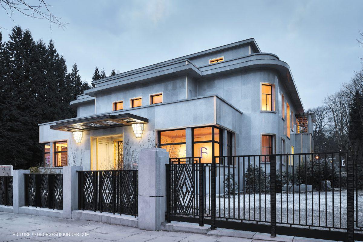 De Europese architectuurprijs Philippe Rotthier: de Villa Empain bekroond