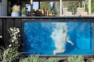 Zomertip: een zeecontainer als zwembad