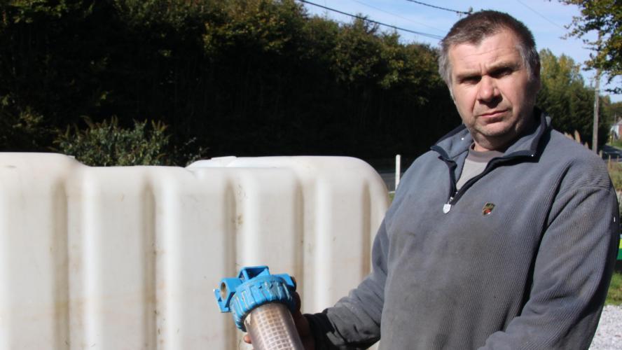 Ongehoord: deze Belg zit al 26 jaar zonder drinkwater
