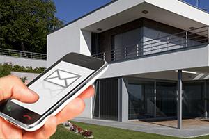 Kan je een huis via sms kopen of verkopen?