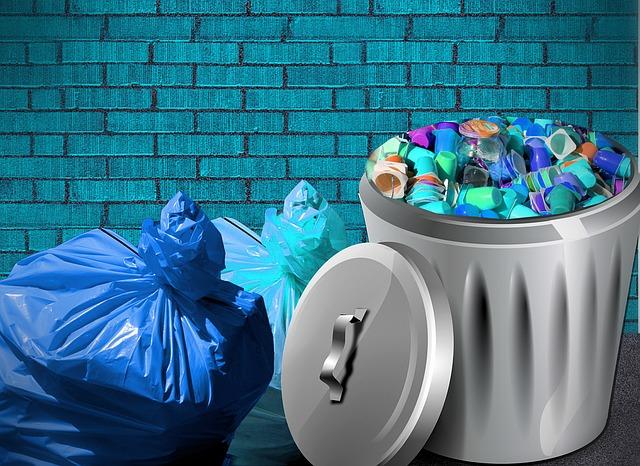 Mogen je buren afval op hun terras zetten?