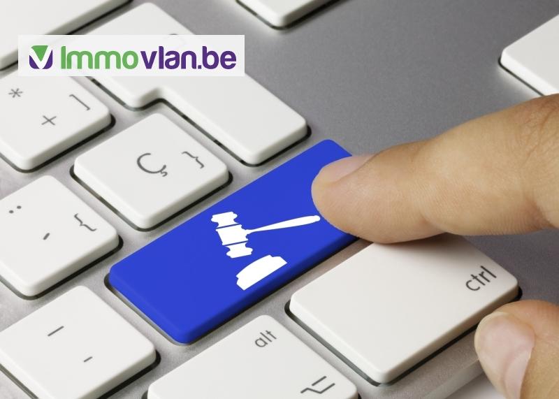 Binnenkort kan je online bieden op vastgoed via Immovlan.be