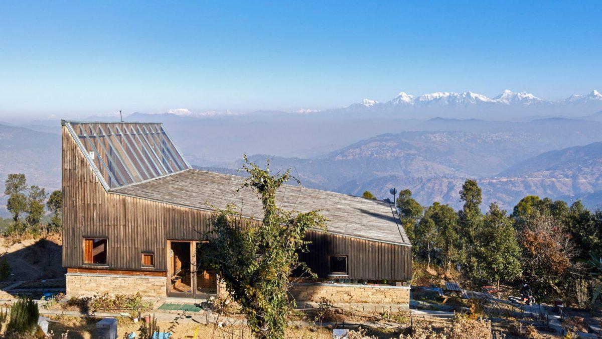 Architectenbureau heeft ideale plek voor vakantiehuis gevonden