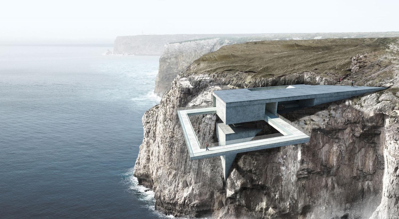 Dit spectaculaire gebouw is niet voor koukleumen!