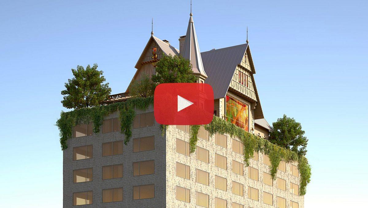 """Video: Een nieuw """"grotesk"""" gebouw in Frankrijk?"""