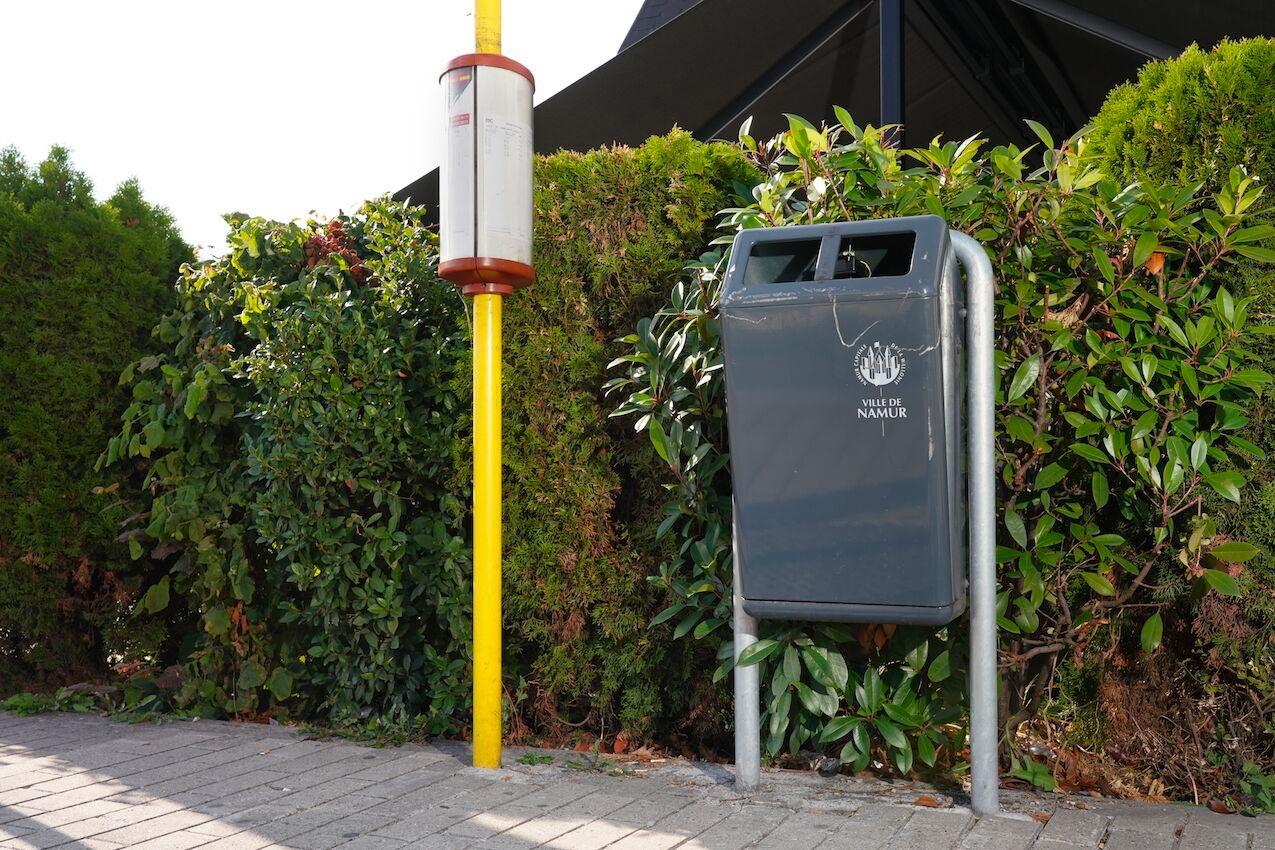 Geconnecteerde afvalbakken in Wallonië
