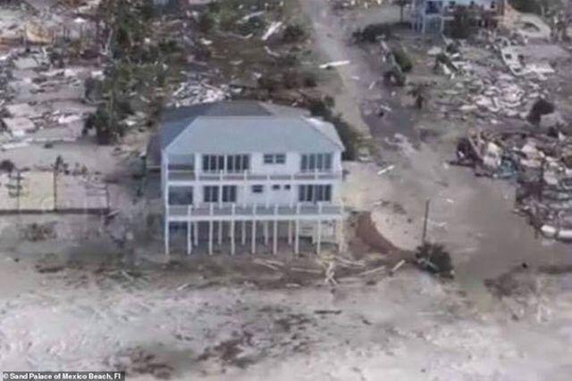 Cette maison a survécu à l'ouragan Michael (et ce n'est pas rien)