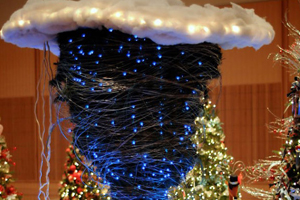 10 hoogst ongewone kerstbomen