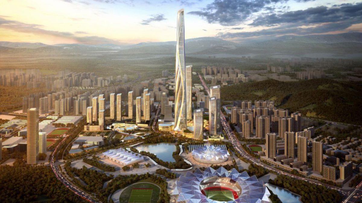 Dit wordt de 2de hoogste toren ter wereld
