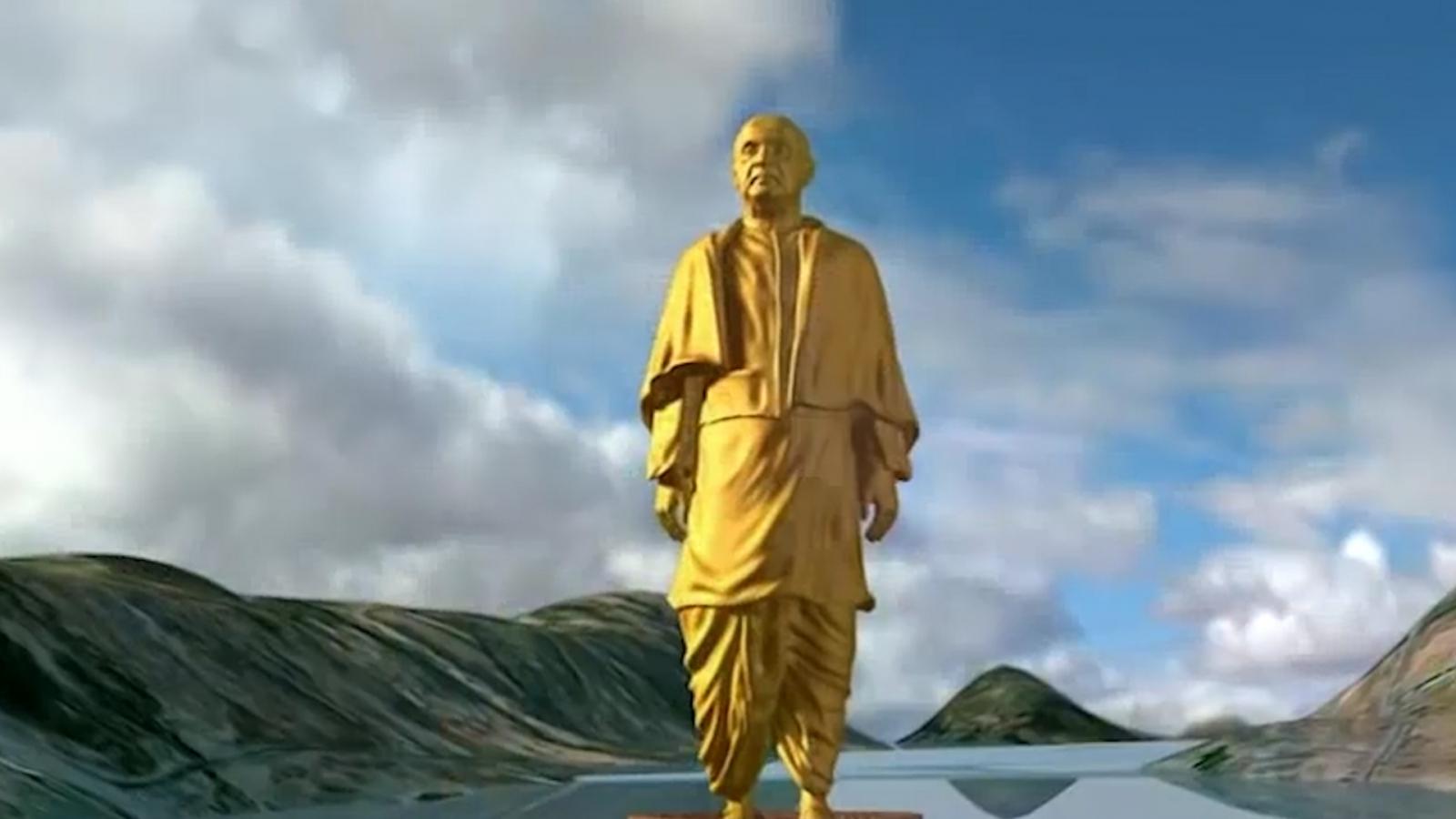 Het hoogste standbeeld ter wereld komt in India