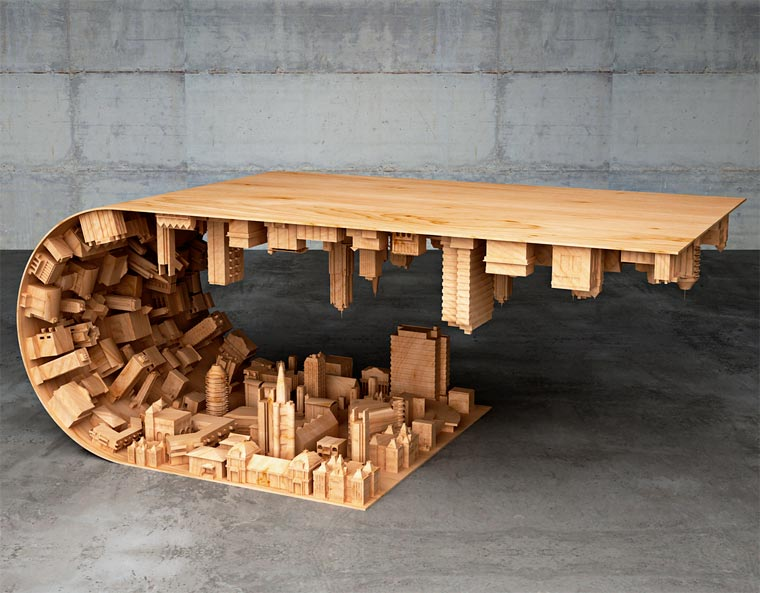 5 tafels die uitblinken in originaliteit