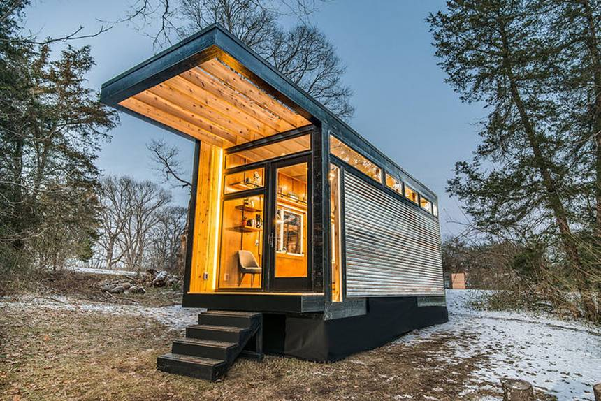Immo nieuws tiny house movement wonen op for Tiny house movement nederland