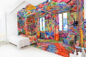 5 huizen vól graffiti
