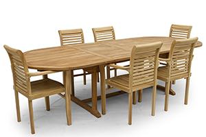 Voici comment conservez vos meubles de jardin en teck dans un état optimal