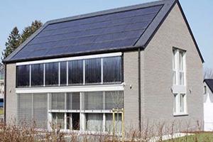 Un bâtiment à énergie neutre en quatre étapes