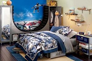 4 chambres à coucher pour des amateurs de sports extrêmes