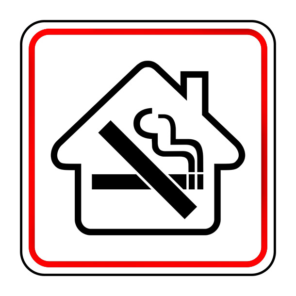 Kan je je huurder verbieden om te roken?