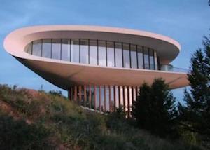 5 huizen die op ufo's lijken