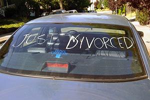 Wat gebeurt er als getrouwde huurders scheiden?