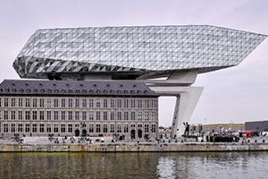 La Maison du port à Anvers, dernier ouvrage de Zaha Hadid