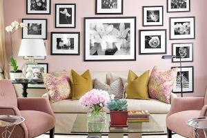 4 verrassend mooie roze interieurs