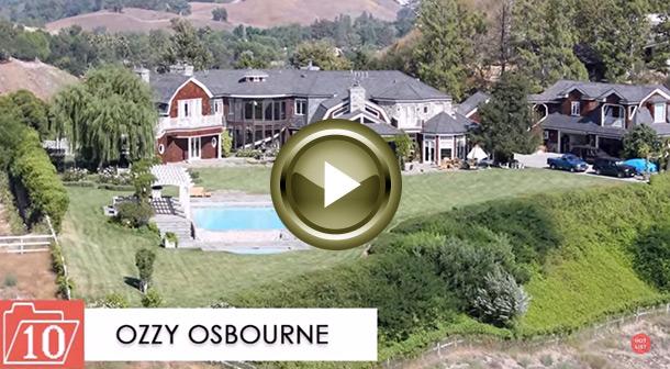 Célébrités: Top 10 des maisons les plus chères