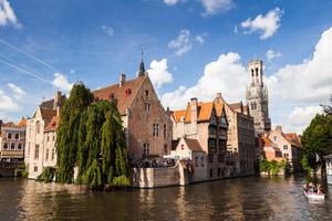 Dormir à Bruges coûte plus cher qu'à Londres.