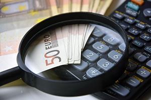 Mogen forfaitaire kosten meegeteld worden voor de huurwaarborg?