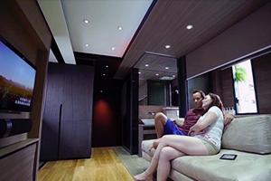 Vivre dans le luxe... sur 28 mètres carrés! (+VIDEO)