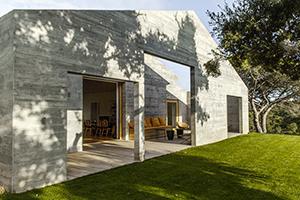 4 maisons de vacances conviviales en béton