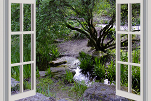 Mag de bewoner van een gelijkvloers appartement de tuin gebruiken?