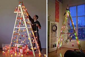 5 sapins de Noël très inhabituels