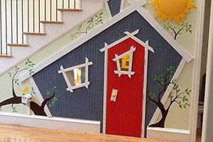 3x DIY-inspiratie voor de ruimte onder je trap